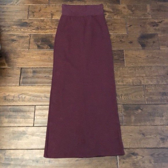 American Apparel Classic Girl Maxi Skirt